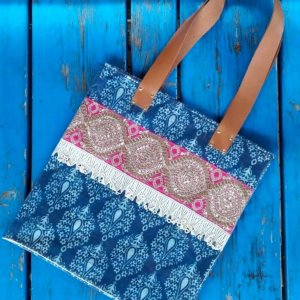 13. Sac INDIA en tissu plasitifeì 69€ 38_41cm OUT OF STOCK