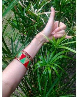bracelet manchette Creation islandkarma