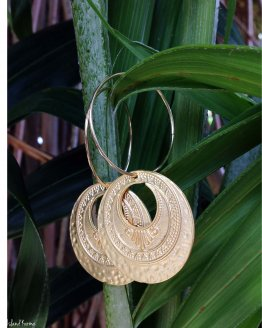 Boucles d'oreille Bohème2 Creation islandkarma