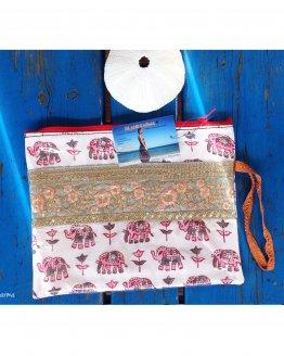 Pochette Elephant Rose Creation islandkarma