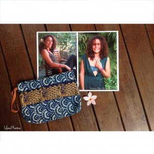 Pochette Paon 2 Creation islandkarma